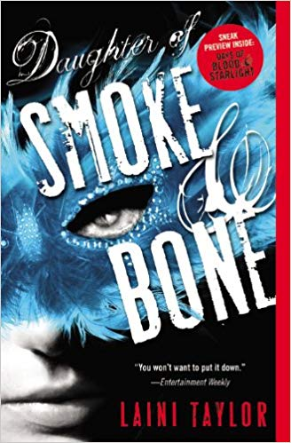 Chimera Review of  Daughter of Smoke and Bone by LainiTaylor