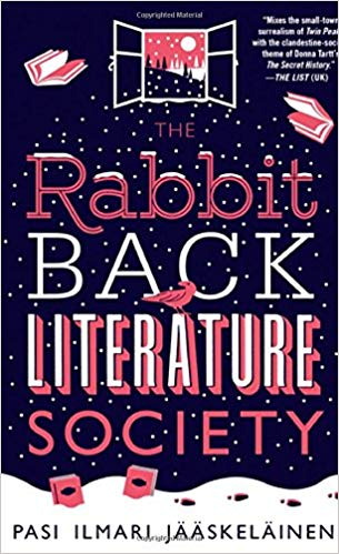 Chimera Review of The Rabbit Back Literature Society by Pasi Ilmari Jääskeläinen